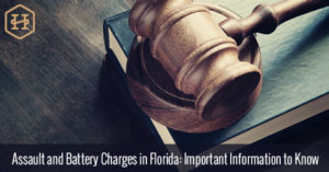 Assault and Battery Charges in Florida